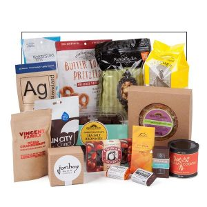 gourmet snack assortment food gift basket