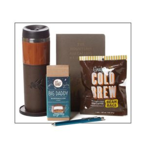 coffee notebook gift set