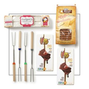 Make your own s'mores gift set