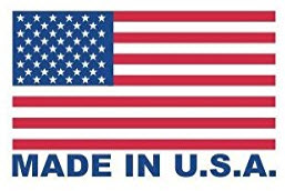Made In USA Label Example