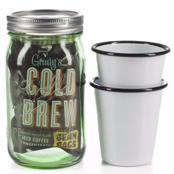 College care package cold brew coffee gift set