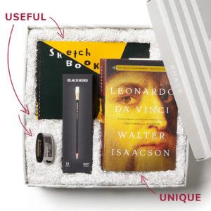 unique useful book lover's gift leonardo da vinci biography