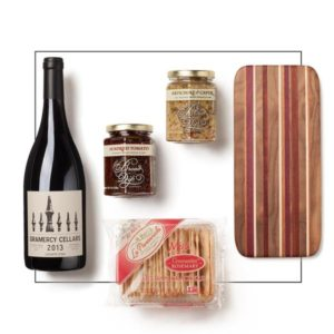 red wine appetizers gift
