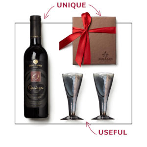 unique useful wine caramels gift