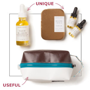 unique useful grooming supplies gift for men